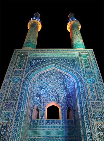 شبستان مسجد مصلی