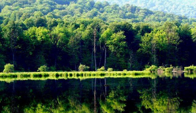 دریاچه الندان و جاده عشق